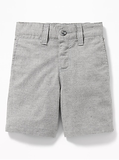 Built-In Flex Chino Shorts for Toddler Boys