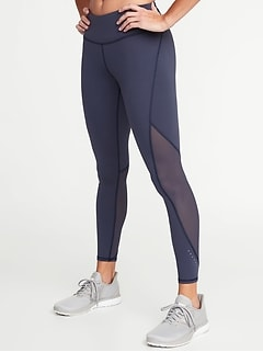 Mid-Rise 7 8-Length Elevate Compression Run Leggings for Women 518bb7cd6e38