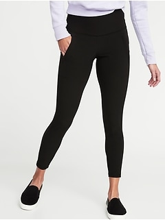 High-Rise 7/8-Length Street Leggings for Women