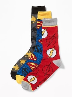 Licensed Pop-Culture Socks 3-Pack for Men