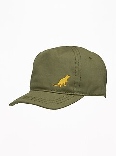 Dinosaur-Graphic Baseball Cap for Baby