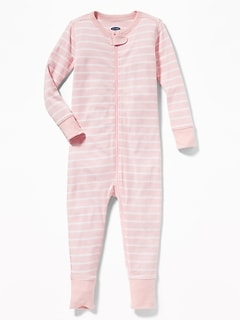 Striped Sleeper For Toddler & Baby