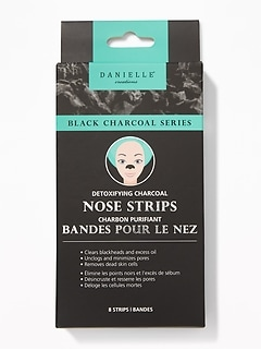 Danielle® Creations Detoxifying Charcoal Nose Strips
