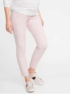 Maternity Full-Panel Pixie Ankle Pants