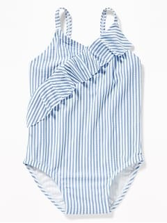 Ruffled Swimsuit for Toddler Girls
