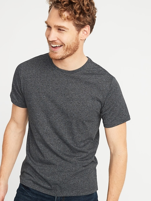 Soft-Washed Crew-Neck Tee for Men