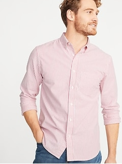 1d2457d20ba Slim-Fit Built-In Flex Everyday Oxford Shirt For Men