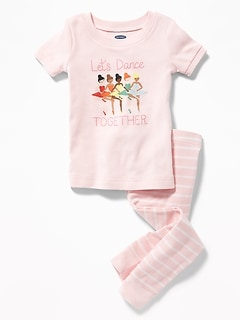 """Let'S Dance Together"" Sleep Set For Toddler & Baby"