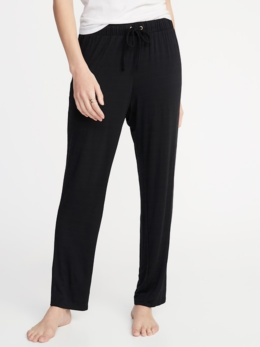 Soft Jersey Lounge Pants for Women