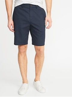 Slim Ultimate Built-In Flex Khaki Shorts for Men - 10 inch inseam