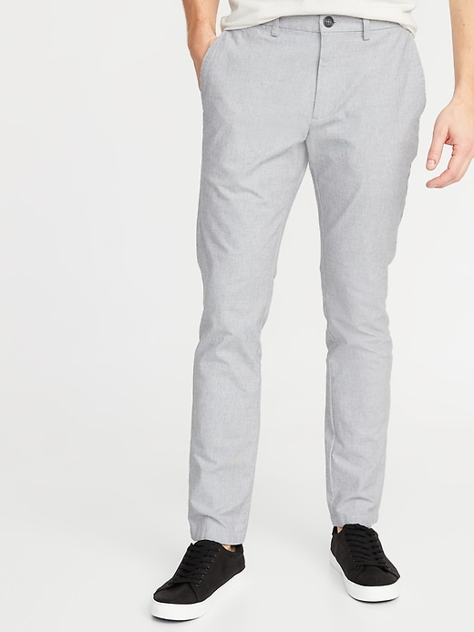 Slim Built-In Flex Textured Ultimate Pants for Men