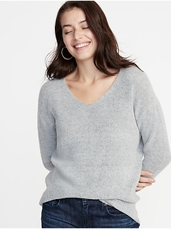 Cozy V-Neck Sweater for Women