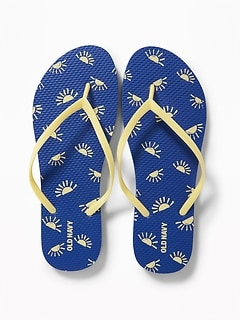 801f901f27b Patterned Flip-Flops for Women