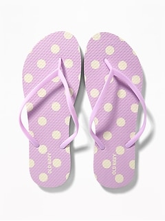 6ae843ffb Patterned Flip-Flops for Women
