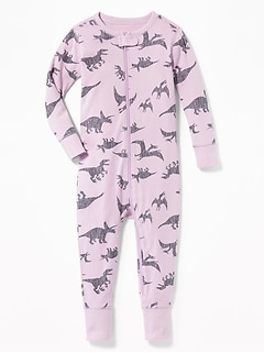 Dino-Print Sleeper For Toddler & Baby