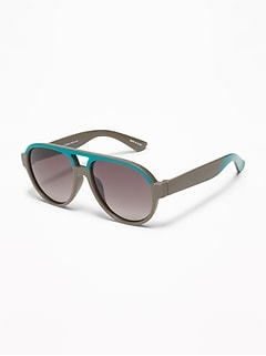 Color-Blocked Aviator Sunglasses For Toddler & Baby