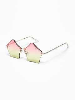 Ombré Star-Shaped Sunglasses for Girls