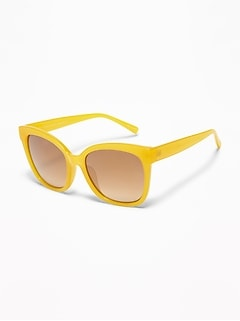 Oversized Square-Frame Sunglasses for Women
