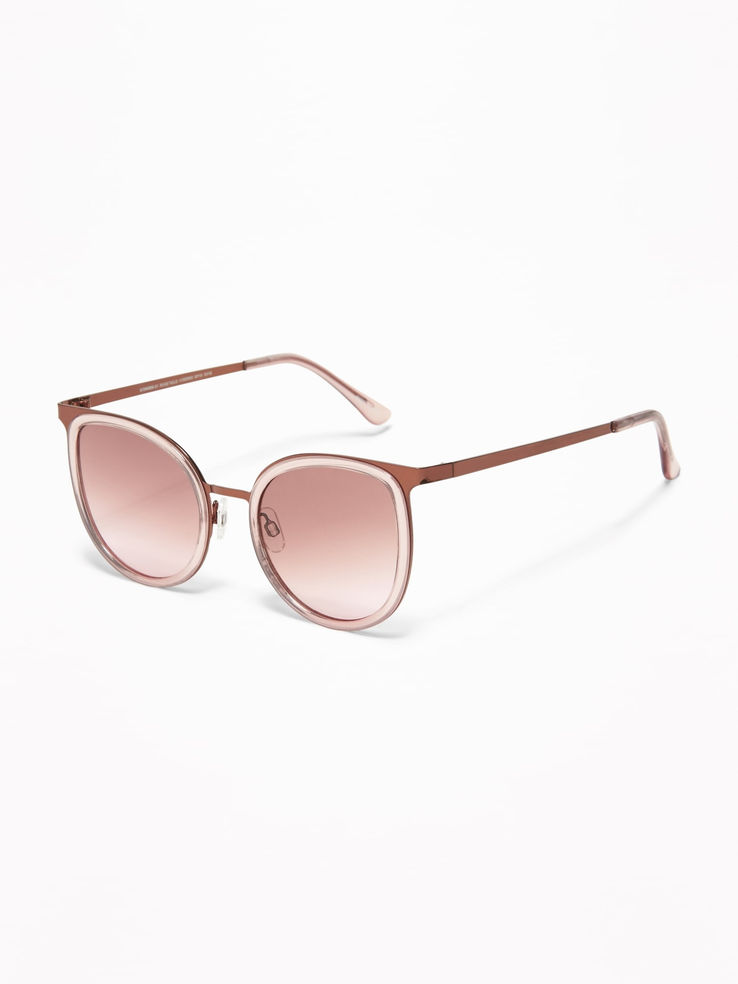 982140cbae Mixed-Material Sunglasses for Women