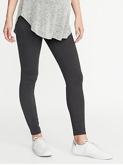 Maternity Full-Panel Jersey Leggings