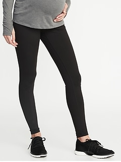 Maternity Full-Panel Elevate Compression Leggings