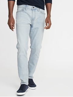 Relaxed Slim Built-In Flex Jeans for Men