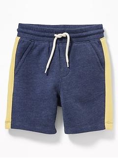 28e89f3cf0b Functional Drawstring Side-Stripe Jogger Shorts for Toddler Boys