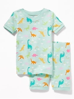 Dino-Print Sleep Set For Toddler & Baby
