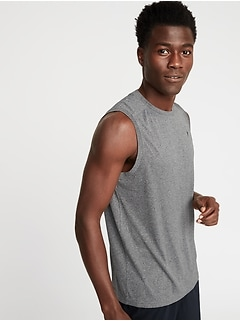 Go-Dry Eco Muscle Tank for Men