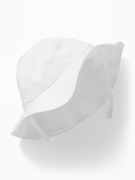 Canvas Sun Hat For Toddler Girls & Baby