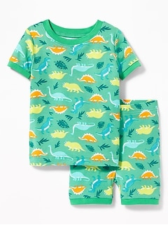 Dinosaur Print Sleep Set For Toddler & Baby