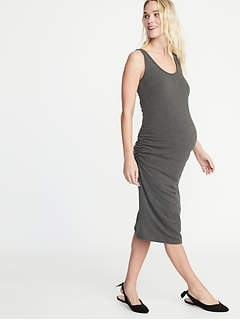 Maternity Bodycon Tank Dress
