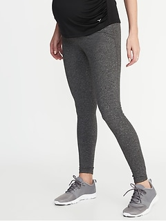 Maternity High-Rise Elevate Compression Leggings