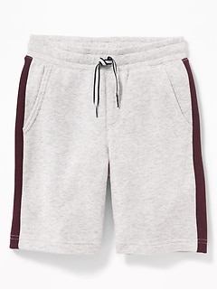 Color-Blocked Jogger Shorts for Boys
