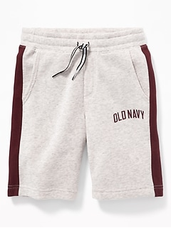 Logo-Graphic Jogger Shorts for Boys