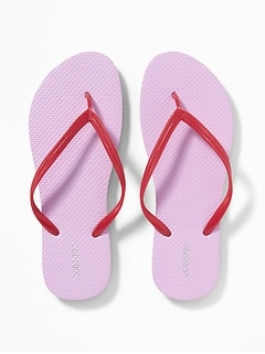 7bfac97c59e4 Pop-Color Flip-Flops for Women