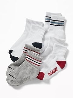 Sport Socks 4-Pack For Toddler & Baby