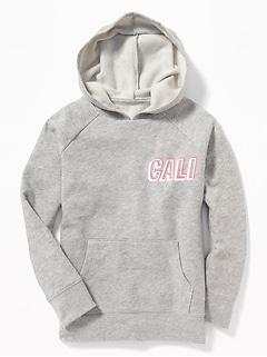 Graphic Pullover Hoodie for Girls