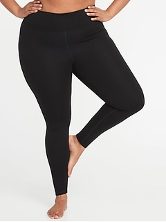 High-Rise Plus-Size Yoga Leggings