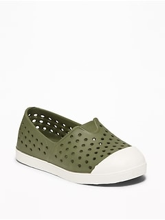 Perforated Slip-Ons For Toddler Boys