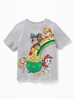 Paw Patrol™ St. Patrick's Day Tee for Toddler Boys