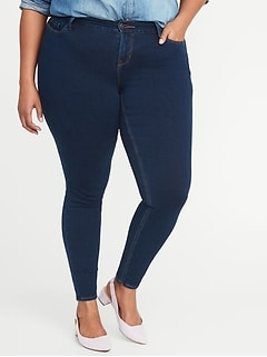 High-Rise Plus-Size Rockstar Built-In Sculpt 24/7 Jeans