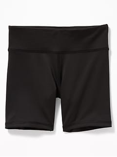 Go-Dry 4-Way-Stretch Performance Shorts for Girls