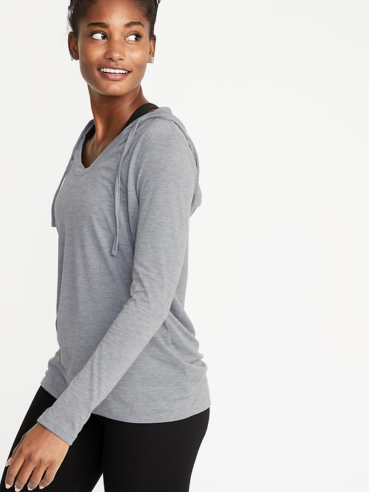 Lightweight Performance Pullover Hoodie for Women