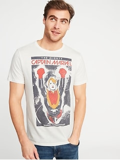 Marvel&#153 Captain Marvel Tee for Men