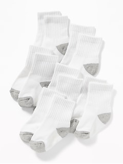 Non-Skid Socks 6-Pack For Toddler & Baby