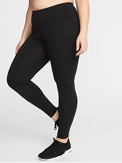 High-Rise Elevate Compression Plus-Size Leggings