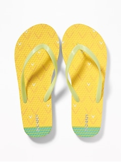 Printed Flip-Flops for Girls