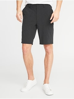 Slim Hybrid Performance Shorts for Men - 10-inch inseam