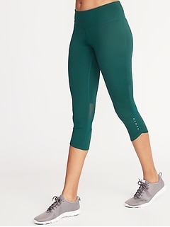 622c6553e9677 Old Navy > Women's Clothing > Workout Pants & Athletic Pants > High-Waisted  Workout Leggings. Mid-Rise Elevate Compression Run Crops for Women